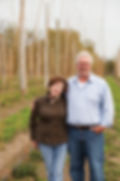 Laurie Thatcher-Craig and John Craig are the owners of Clear Valley Hops at the base of the Blue Mountains near Collingwood Ontario Canada