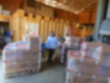 Clear Valley Hops shipment of 2,000lbs of hops to Nova Scotia