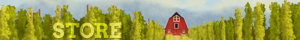 Farm fresh Canadian Cascade hops for sale online in Ontario Canada