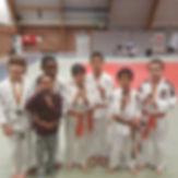Bonne récolte de médailles pour le Seish