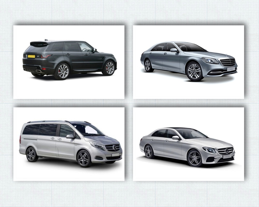 Some of our chauffeur driven cars