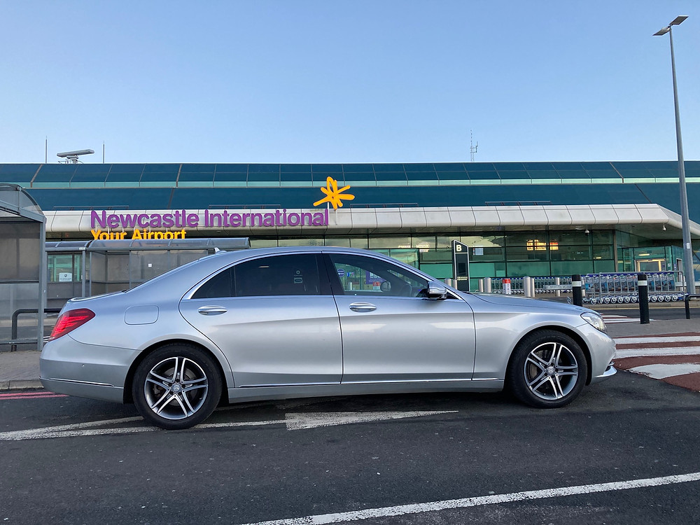 Mercedes at Newcastle Airport