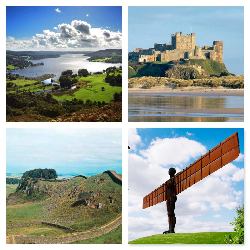 Landmarks of the North East