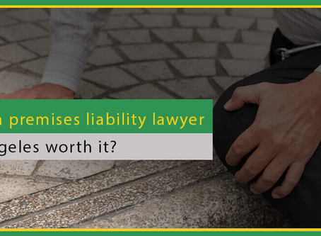 Is hiring a premises liability lawyer in Los Angeles worth it?