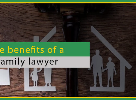 The benefits of a family lawyer