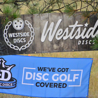 Sponsors Westside Discs and Dynamic Discs
