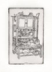 cabinet china print pantry