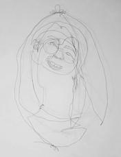 Self Portrait as a 6th Grader