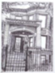 chicago sawyer home house door