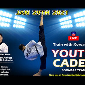 Train with Korea's Top Youth Cadet Poomsae Team