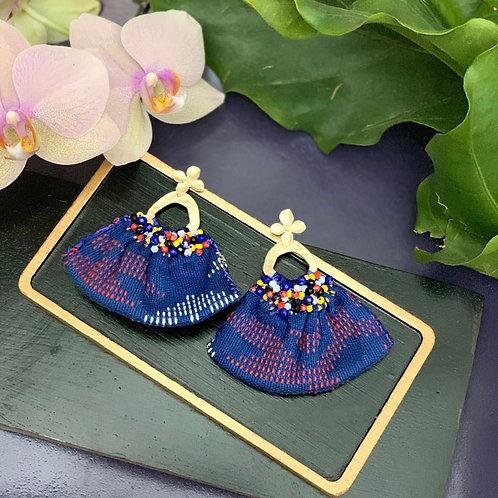 Yakan Retazo Handcrafted Earrings