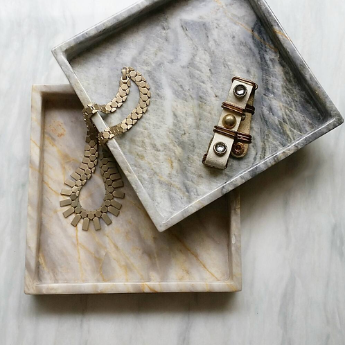 Marble Square Tray