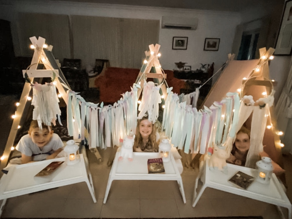 Unicorn Teepee Tents