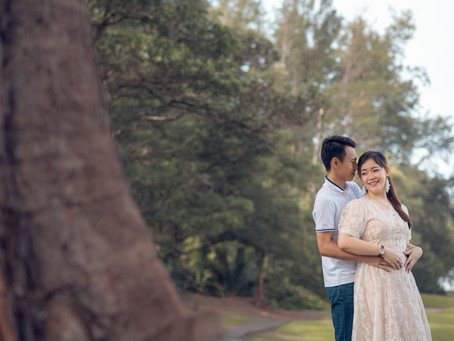 Engagement Portrait - Lam & Li Ping