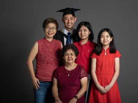 Graduation & Family Portrait - Mr. John