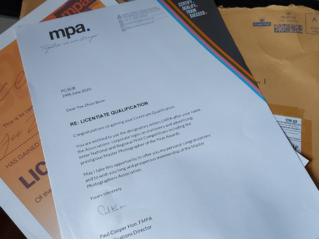 Certificate - All the way from MPA UK