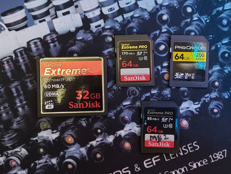 Memory Cards - Which one do I use?