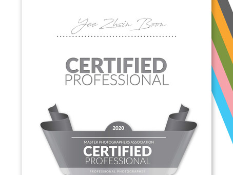 MPA - Certified Professional Photographer 2020