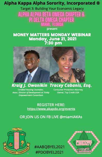 AABQ&PDO_Money Matters Monday -BYEL_Jun