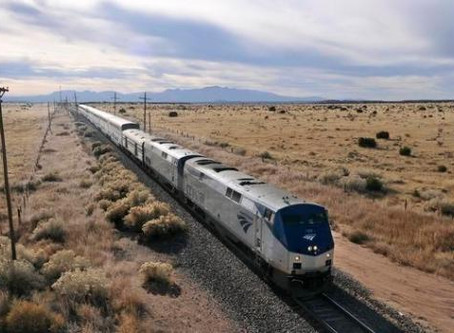 I'm taking a train from LA to Denver this August