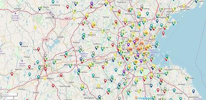 Mapline_2019 Participants by Home Zip _