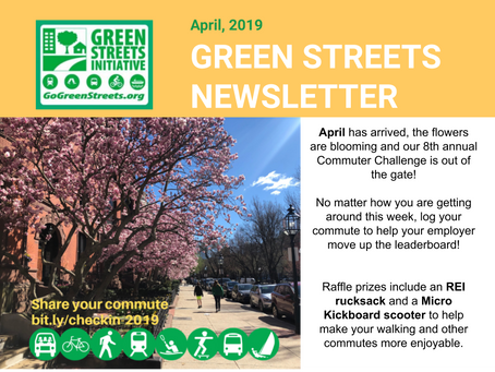 April Walk/Ride Day Newsletter