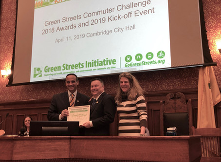 Green Streets Kicks Off its 8th Commuter Challenge with Mayor McGovern