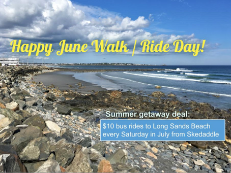 June 2018 Walk/Ride Day Newsletter