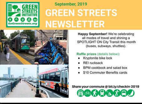 September Walk/Ride Day News & Commuter Challenge Progress