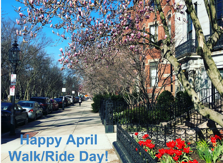 Strong Start in April to Kick-Off the 2018 Walk/Ride Day Challenge