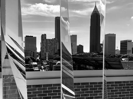 Skyline facettes, Atlanta, August 2021