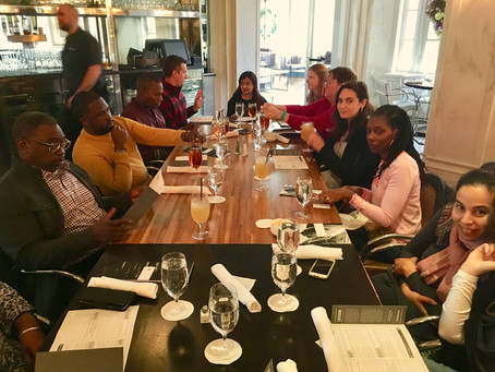 End of the year staff lunch