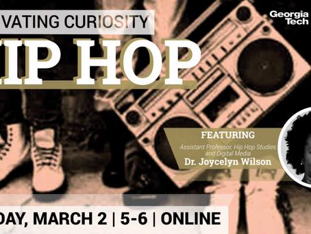 Cultivating Curiosity: Hip Hop, with LMC's Joycelyn Wilson