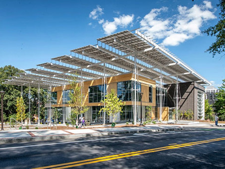 Can campus buildings create more energy than they consume?