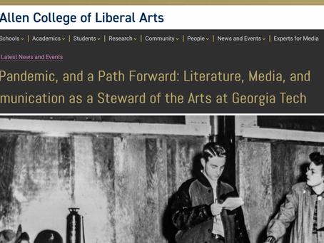 Art, Pandemic, and a Path Forward