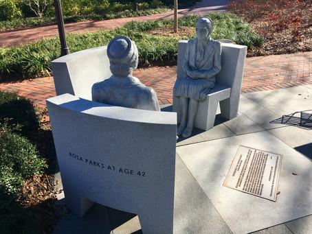 Rosa Parks sculpture(s)