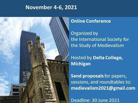 Call for Papers: 36th International Conference on Medievalism