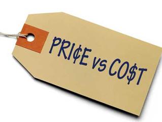 #SalesTip - Price vs Cost