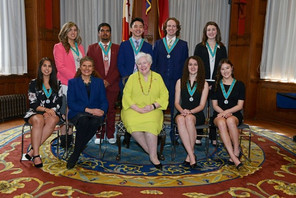 VCO's Dylan Langan receives Ontario Medal for Young Volunteers