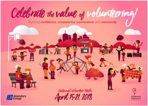 National Volunteer Week Appreciation