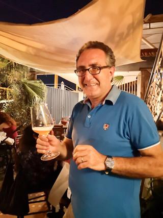 Cena open beer cortile San Giorgio 03.07