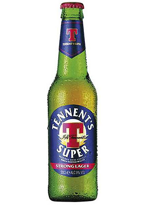 Tennent's Super Strong Lager