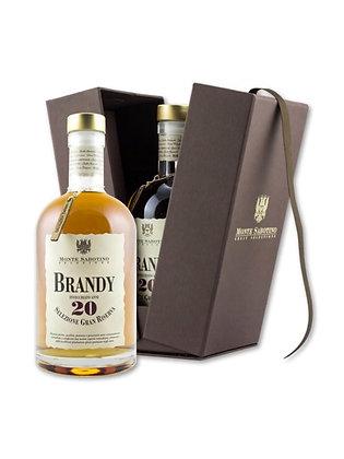 MONTE SABOTINO - Brandy Gran Riserva 20 Anni