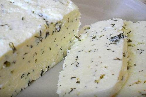 Адыгейский сыр с зеленью весовой (0,3 КГ)