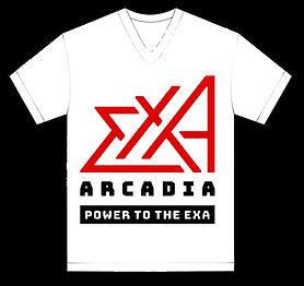 black-white-vneck-shirt-design-template-