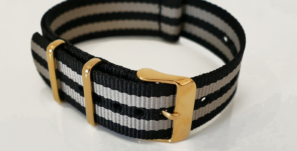 NATO strap Bond - Gold 20mm