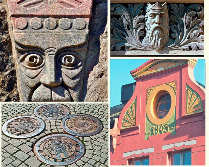 Art Nouveau elements in Ålesund - Von Doren