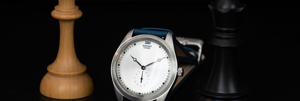 NC Siver - Official Norway Chess watch