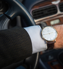 Von Doren klokke i bil