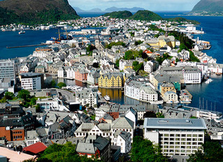 Ålesund, where VonDoren's dream started